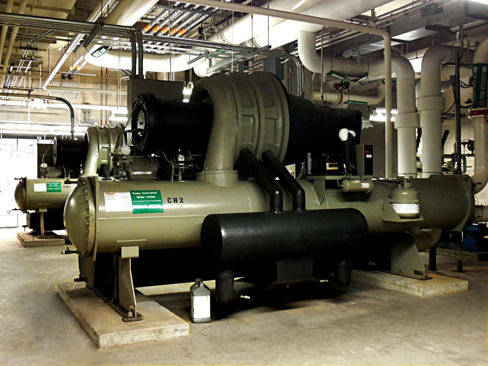 Image of two chillers side by side